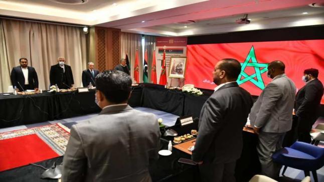 بوزنيقة.. مواصلة الاجتماع التشاوري بين مجلس النواب الليبي والمجلس الأعلى للدولة الليبي