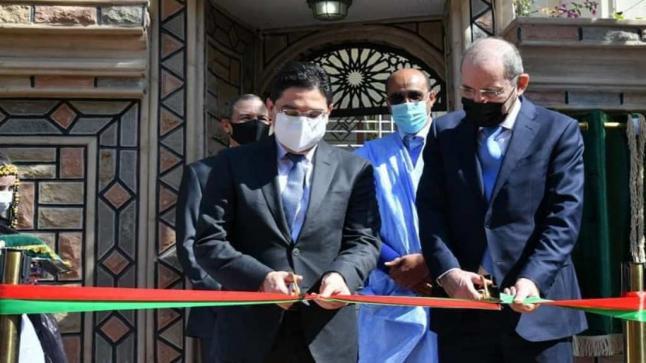 الأردن يفتتح قنصلية عامة بمدينة العيون