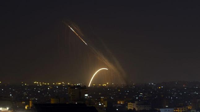 المقاومة الفلسطينية تستهدف اسرائيل تزامنا مع توقيع اتفاقيات السلام