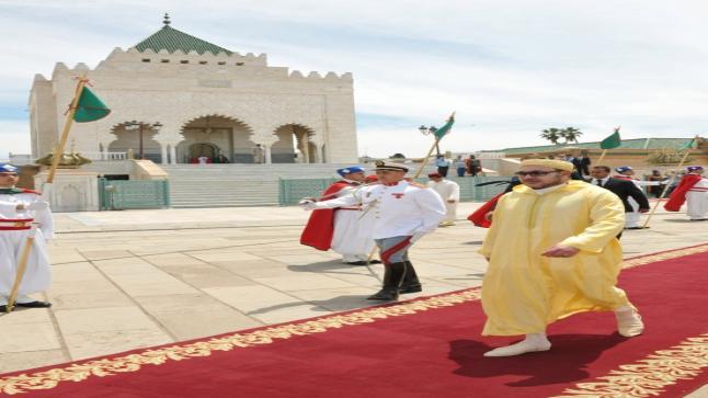 الملك يعطي انطلاق عملية توزيع الدعم الغذائي خلال رمضان
